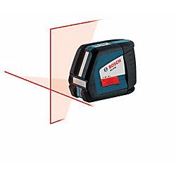 Niveau laser en croix à nivellement automatique
