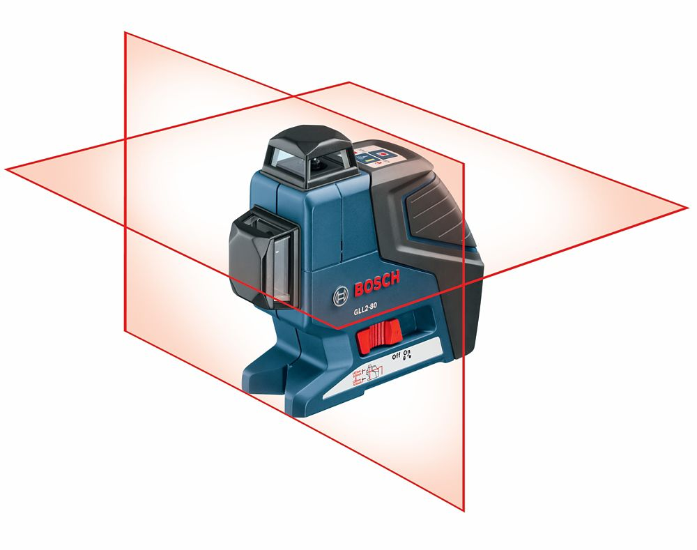 360° Dual-Plane Leveling and Alignment-Line Laser