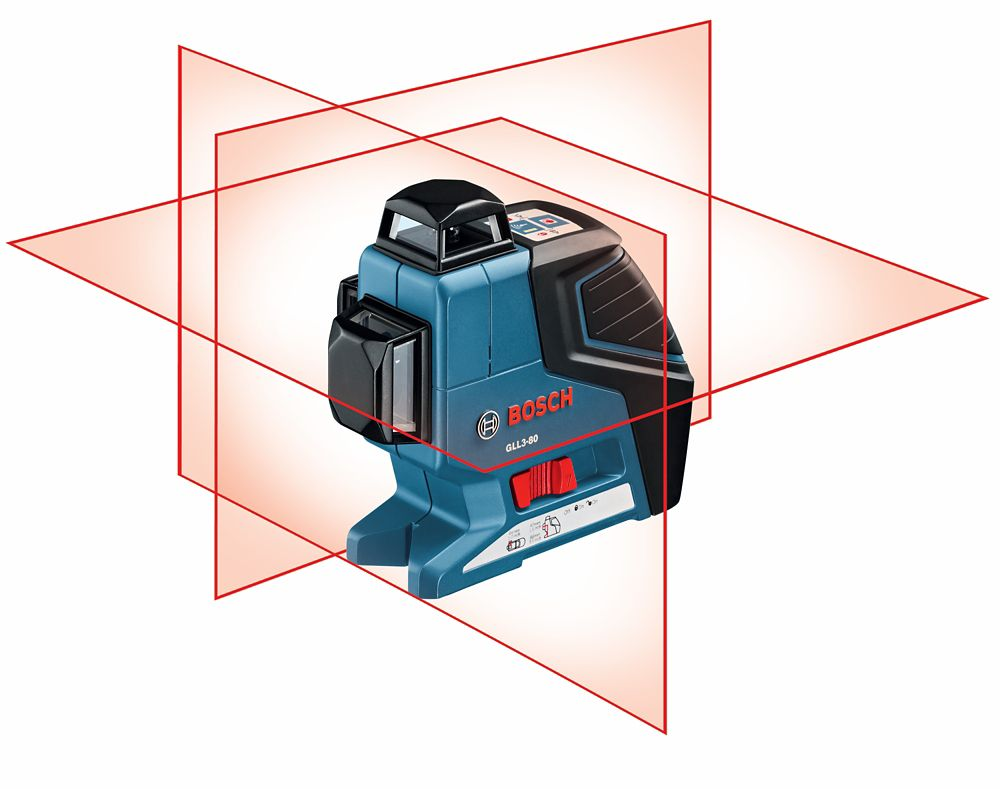 360° Three-Plane Leveling and Alignment-Line Laser