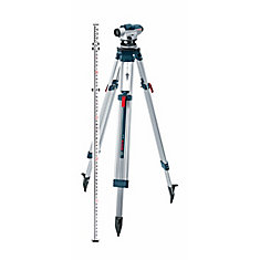 Automatic 330 ft. Range Optical Level with 26x-Power Lens