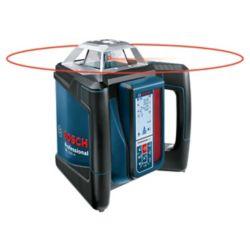 Bosch Ensemble complet de laser rotatif avec mise à niveau automatique