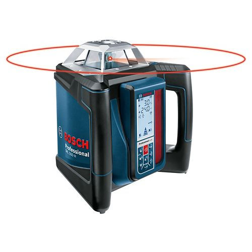 Bosch Complete Self-Levelling Rotary Laser Kit