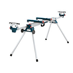 Folding-Leg Mitre Saw Stand with Wheels