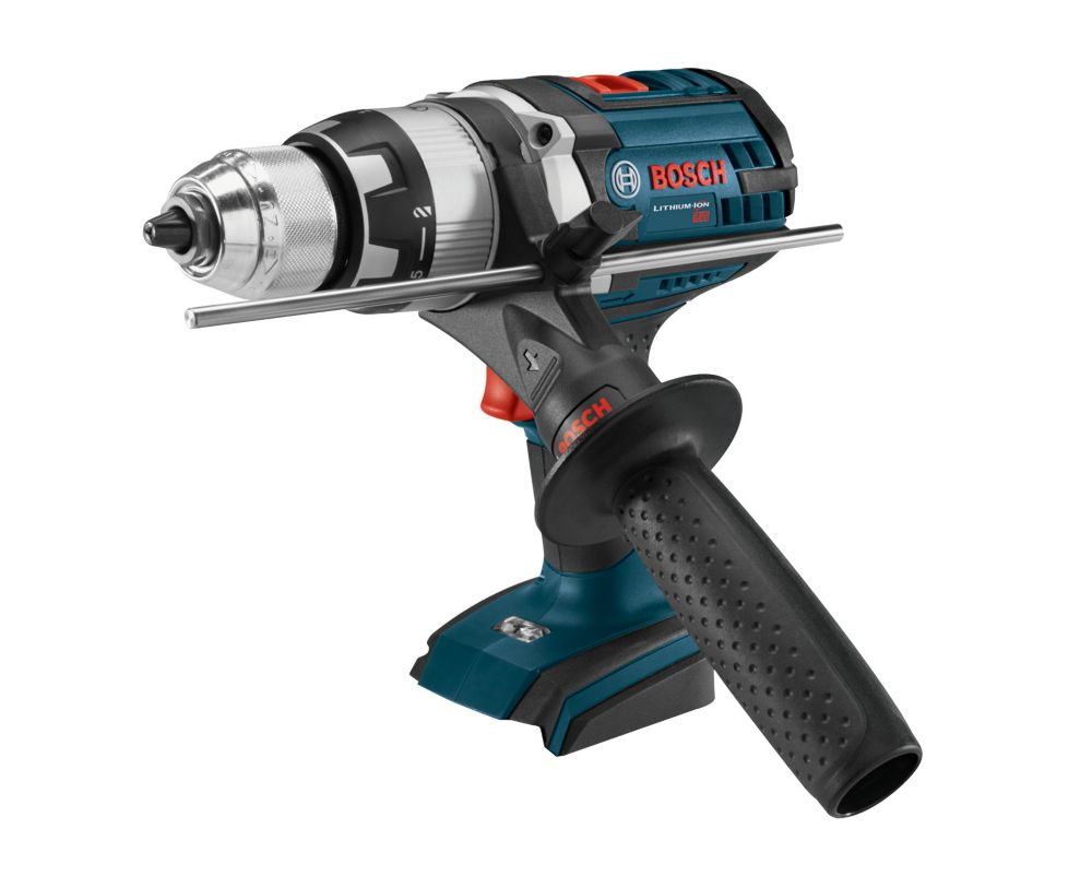 Bosch 18V Lithium Ion Cordles Brute Tough Hammer Drill Driver with Active Response Technology & LED Light