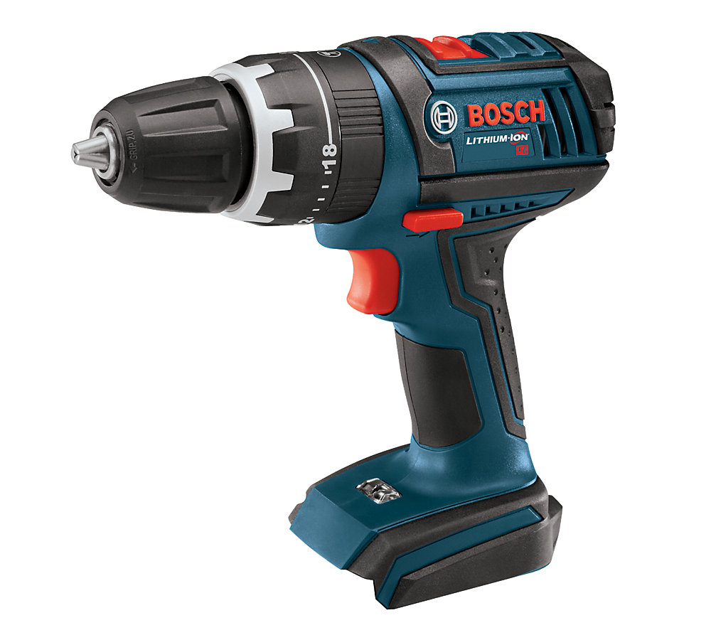 18V Lithium Ion Cordless Compact Tough Hammer Drill/Driver (Tool Only)