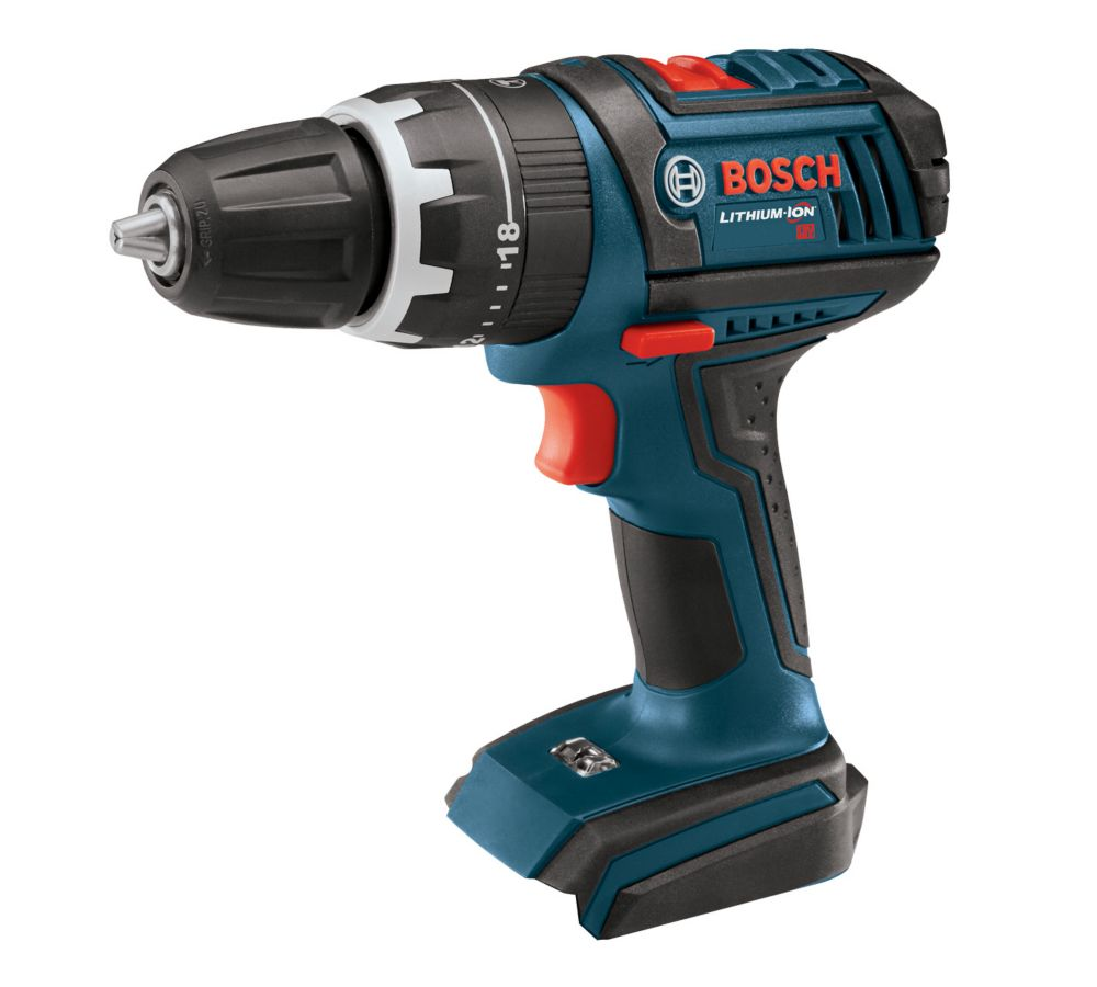 Bosch 18V Lithium Ion Cordless Compact Tough Hammer Drill/Driver - Tool Only
