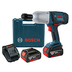 Bosch Clé à chocs 18 V à couple élevé à porte-outil six pans de 7/16 po