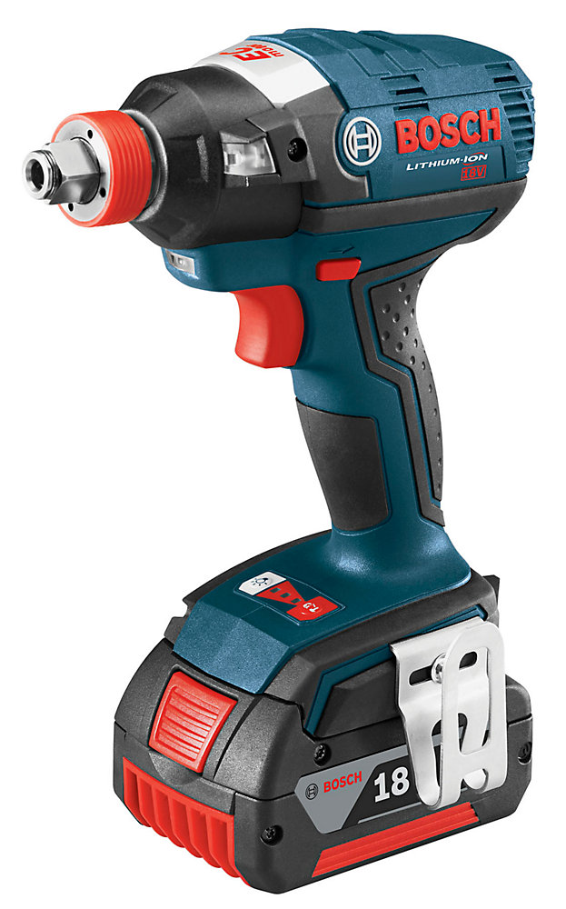 18V  EC Brushless 1/4-inch and 1/2-inch Socket-Ready Cordless Impact Driver with FatPack Batteries
