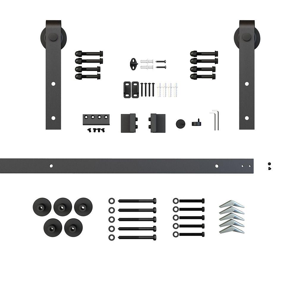 Sliding Door Track And Hardware Kit