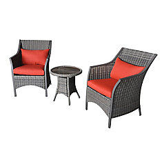 Cingue Terre 3 Piece Patio Bistro Set