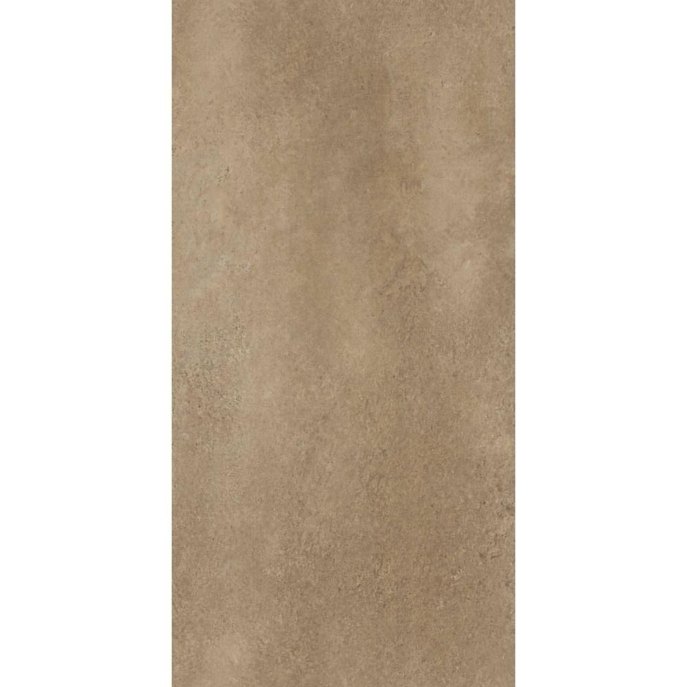 Trafficmaster 12-inch x 24-inch Groutable Ceramica Vinyl Floor Tile in Camel (29 sq. ft./case)