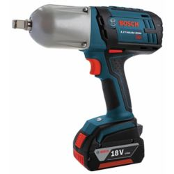 Bosch 18 V High Torque Impact Wrench with Friction Ring