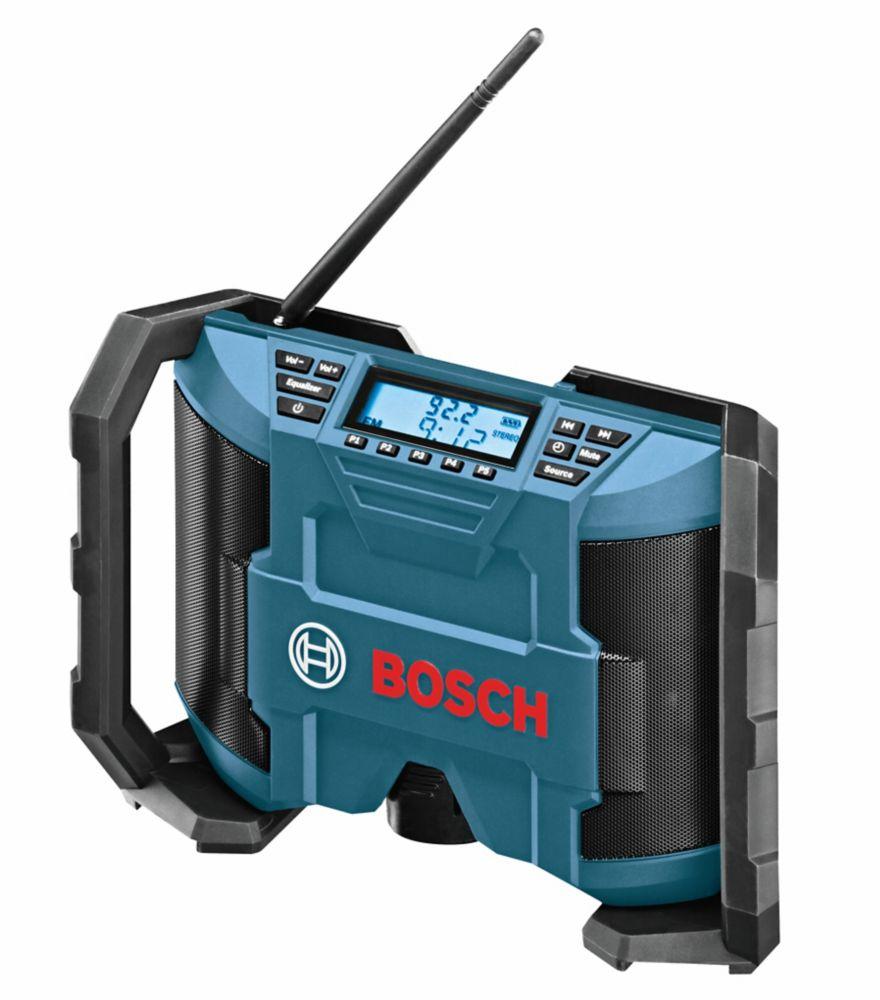 Radio de chantier 12V Compact