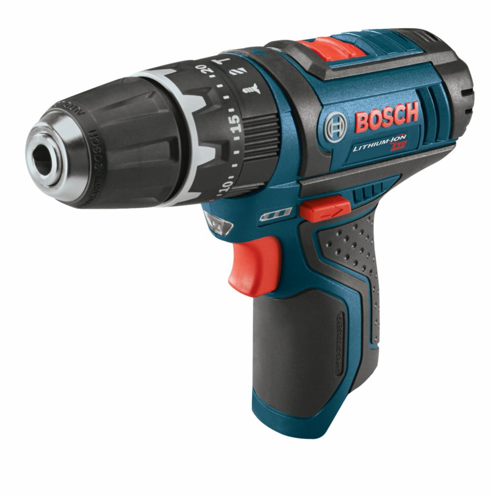 Bosch 12 V Max Hammer Drill Driver - Tool Only with L-BOXX Insert Tray