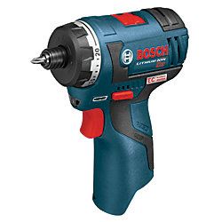 Bosch 12V Lithium Ion Battery Cordless Max EC Brushless Two-Speed Pocket Driver