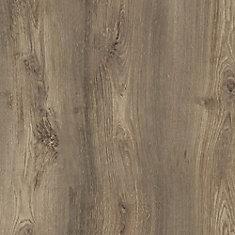 Plancher de vinyle de luxe en planches de chêne flammé verrouillable de 8,7 po x 60 po (21,6 pi2 / caisse)