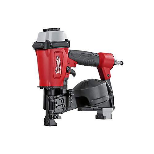 Pneumatic 1-3/4-Inch 15 Degree Coil Roofing Nailer
