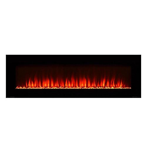 50-inch Electric Fireplace with Bonus Media Kit