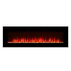 60-inch Electric Fireplace with Bonus Media Kit