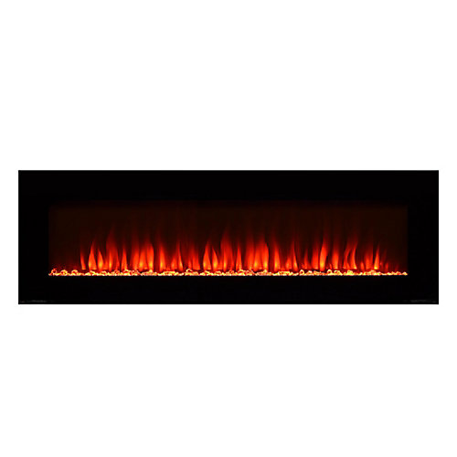 72-inch Electric Fireplace with Bonus Media Kit