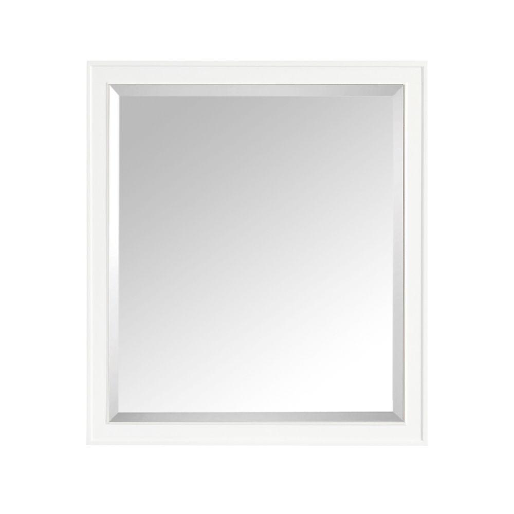 Madison 36 Inch Mirror In White Finish