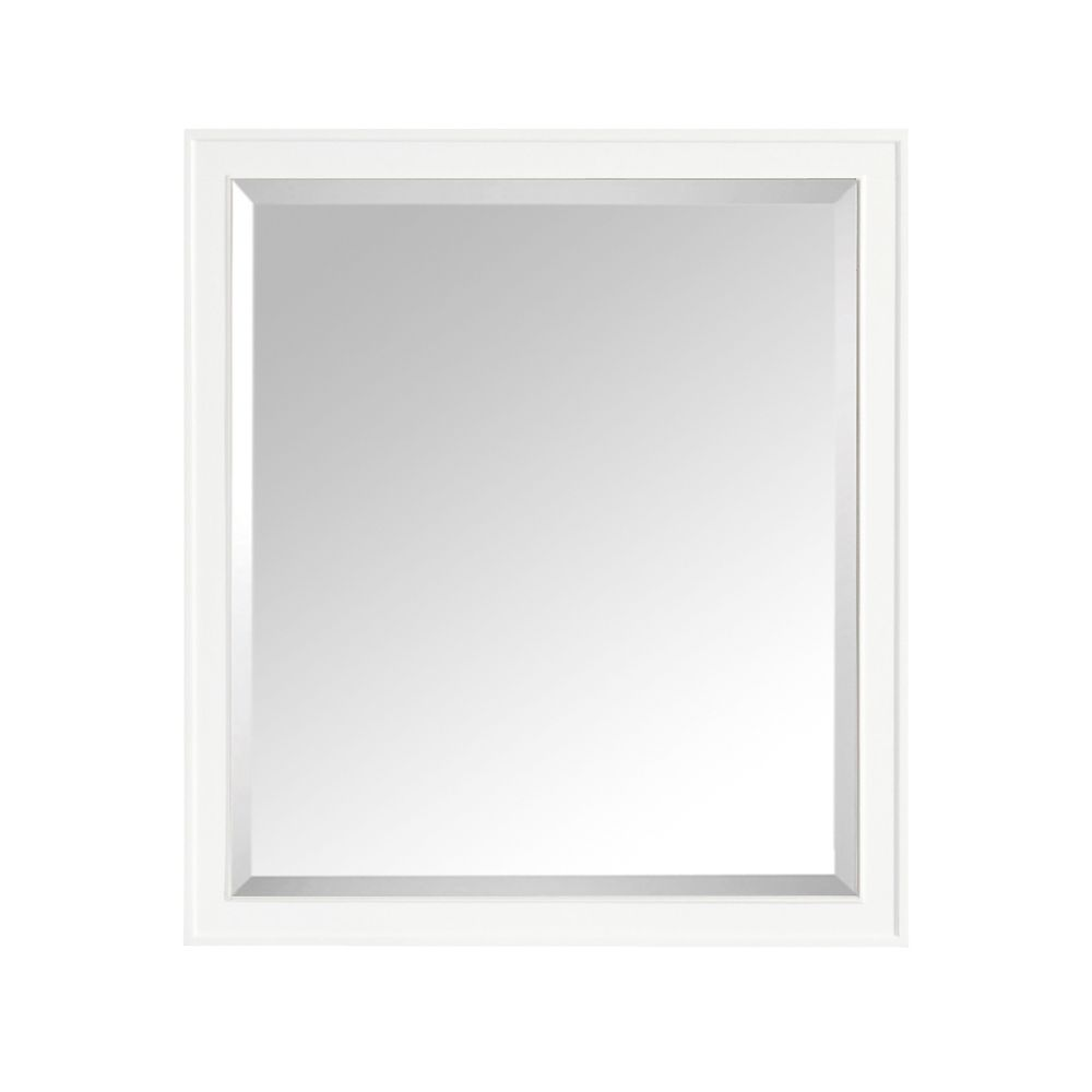 Madison 36 Inch Mirror In White Finish