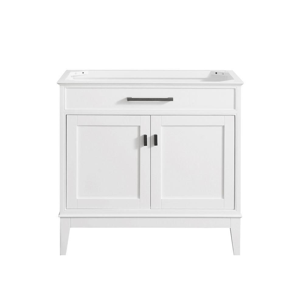 Avanity Madison 36-Inch  Vanity Cabinet in White