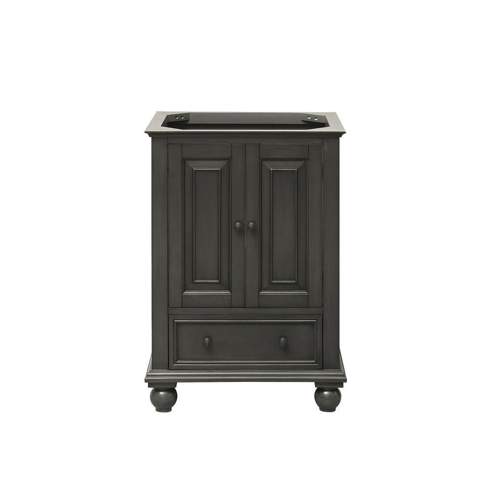 Avanity Thompson 24-Inch Vanity Cabinet in Charcoal Glaze