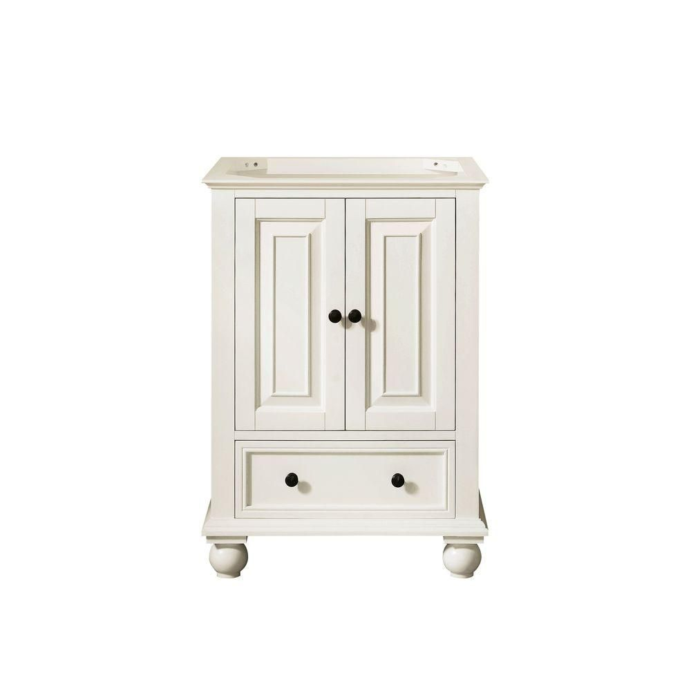 Thompson 24-Inch  Vanity Cabinet in French White