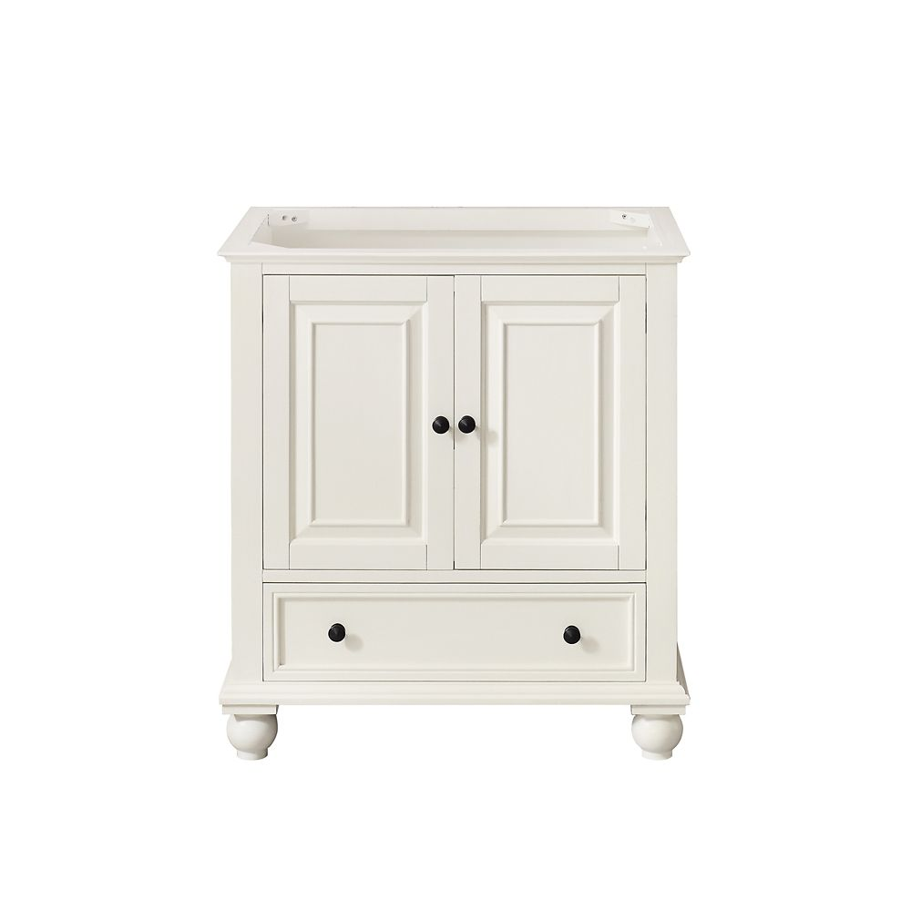 Thompson 30-Inch  Vanity Cabinet in French White