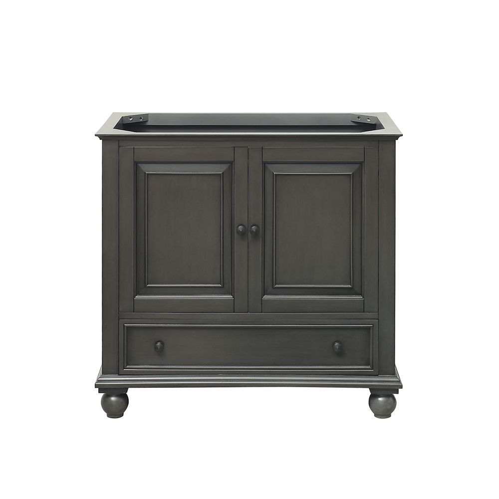 Thompson 36-Inch  Vanity Cabinet in Charcoal Glaze