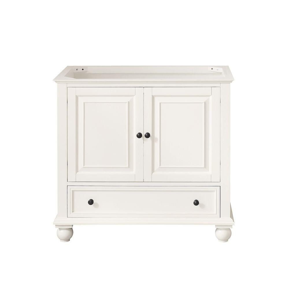 Avanity Thompson 36-Inch Vanity Cabinet in French White