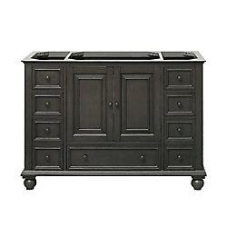 Avanity Thompson 48-inch  Vanity Cabinet in Charcoal Glaze