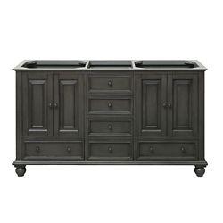 Avanity Thompson 60-inch  Double Vanity Cabinet in Charcoal Glaze
