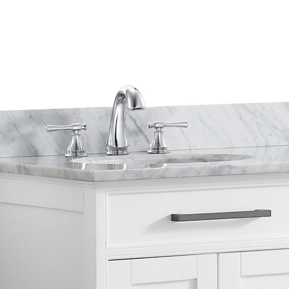 Avanity Triton 8-inch Widespread 2-Handle Bathroom Faucet in Chrome Finish