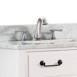 Avanity Triton 8-inch Widespread 2-Handle Bathroom Faucet in Brushed Nickel Finish