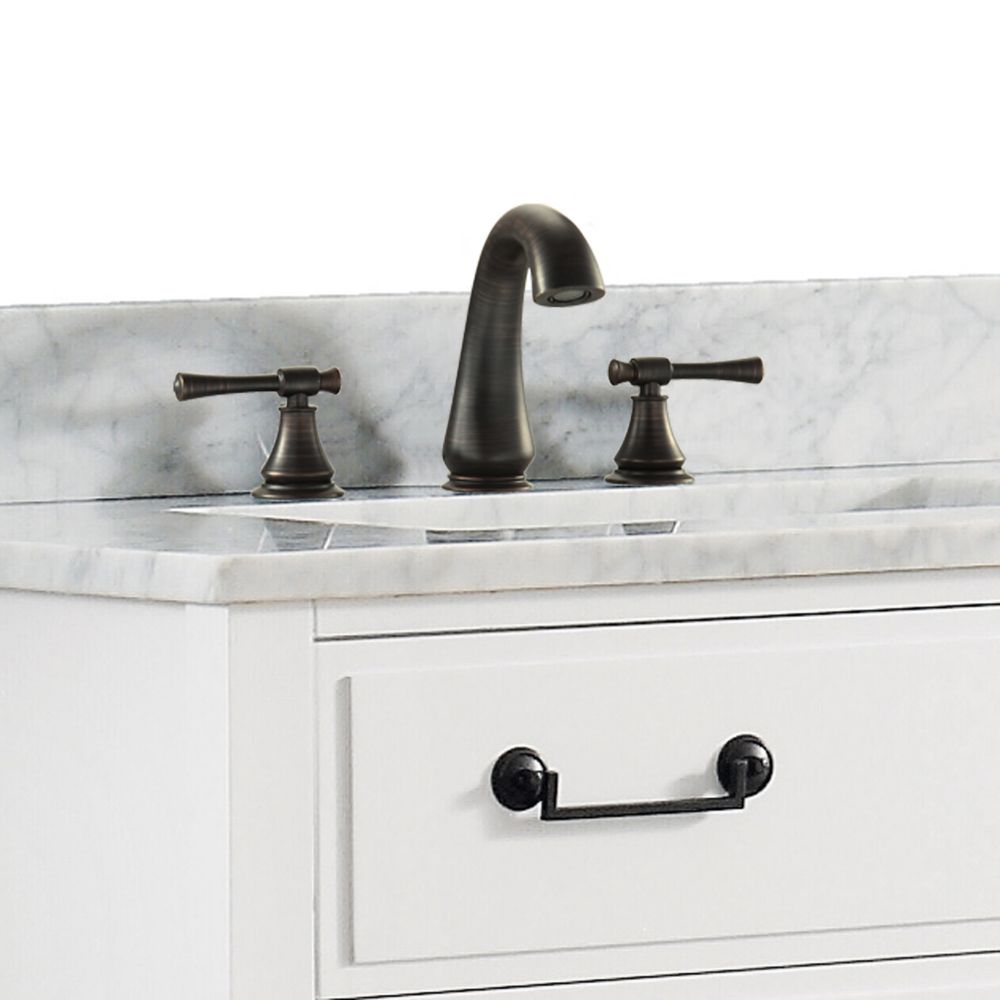 Triton 8-inch Widespread 2-Handle Bathroom Faucet in Oil Rubbed Bronze Finish