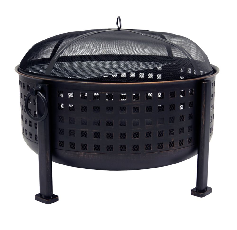 OFW821RC Langston 12 Inch  Deep Bowl Fire Pit