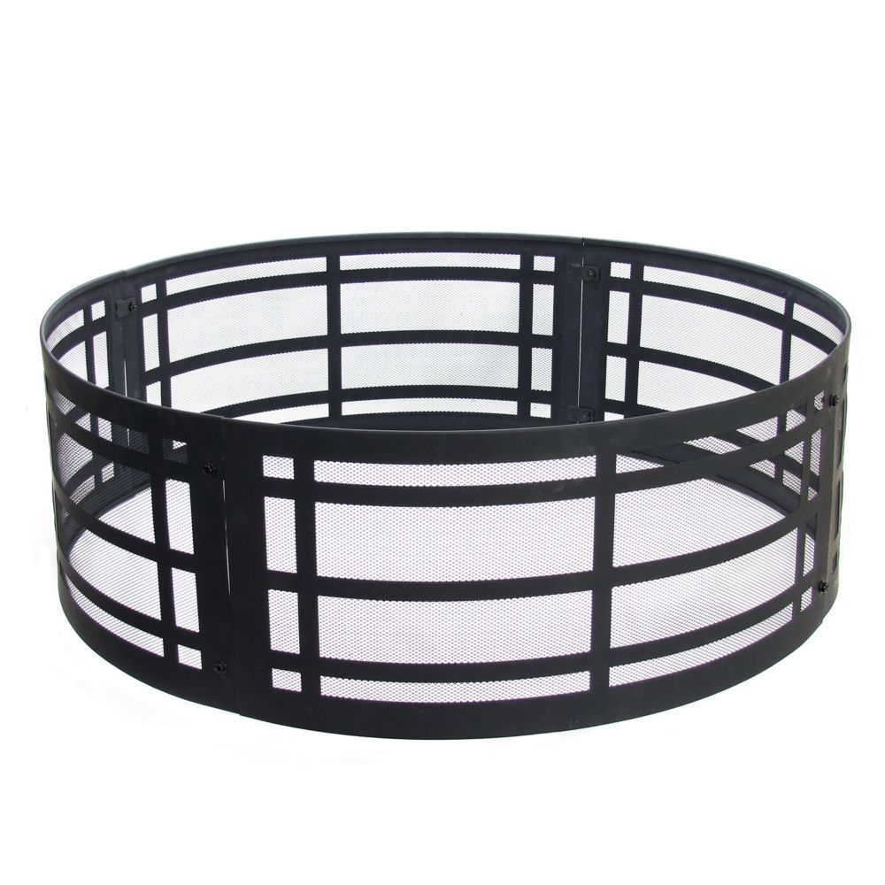 Pleasant Hearth Classic 36-inch Fire Ring Fire Pit