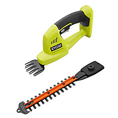 18V ONE+ Lithium-Ion Cordless Grass Shear and Shrubber (Tool Only)