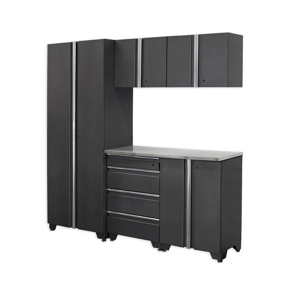 Classic Series Cabinets Coal 6 Piece