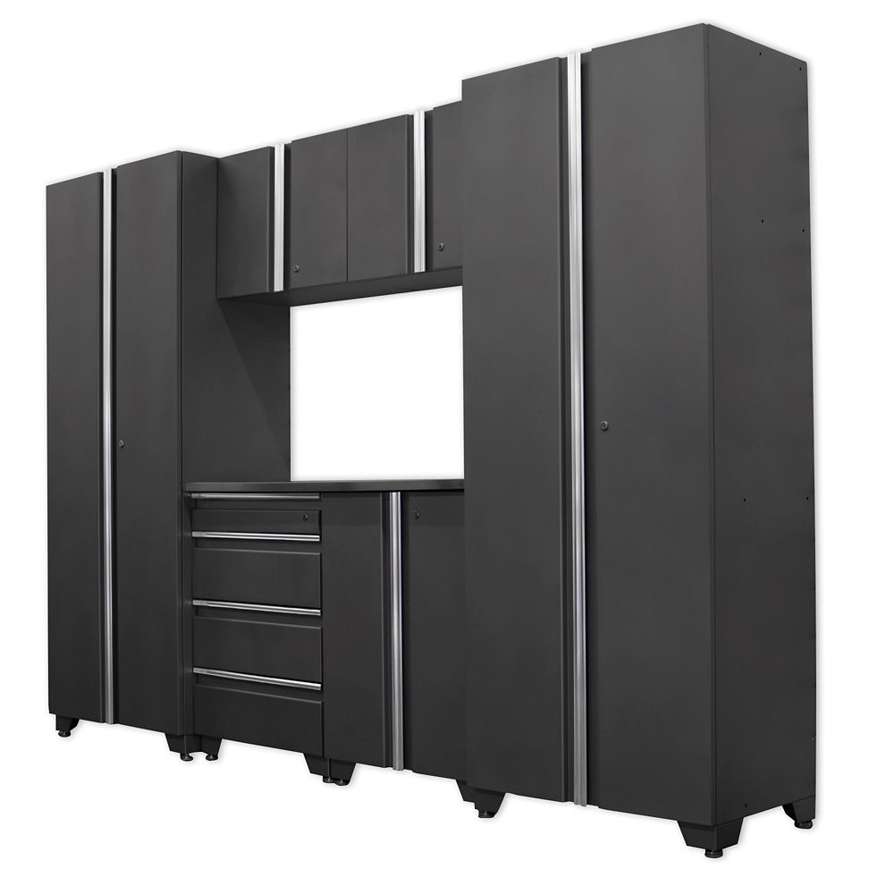 Classic Series Cabinets Coal 7 Piece