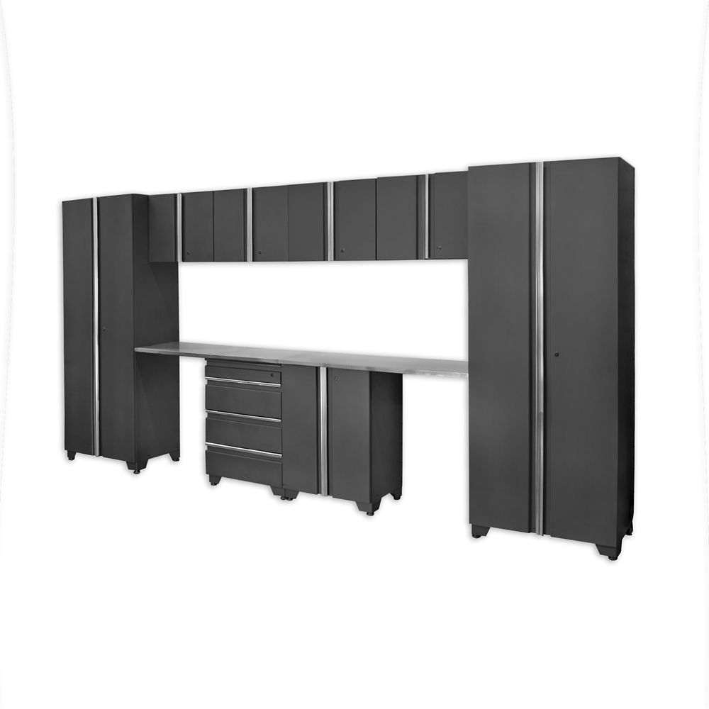 Classic Series Cabinets Coal 10 Piece