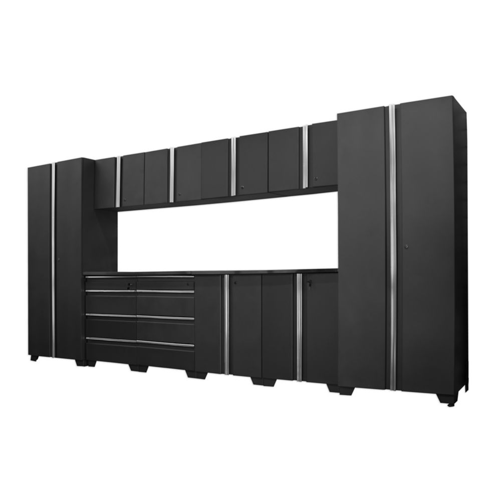 Classic Series Cabinets Coal 12 Piece