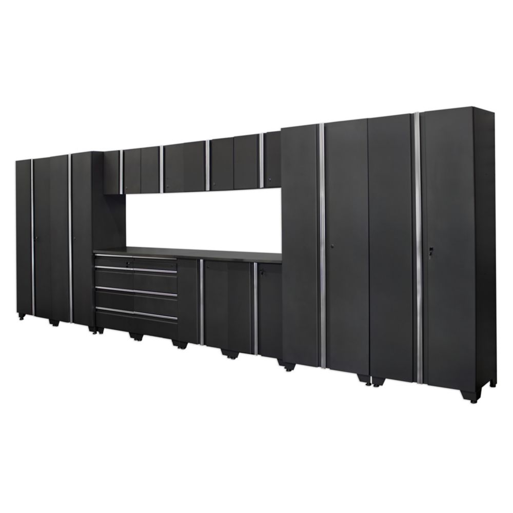 Classic Series Cabinets Coal 14 Piece