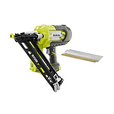 ONE+ 18-Volt 15-Gauge AirStrike Cordless Angled Nailer (Tool-Only)