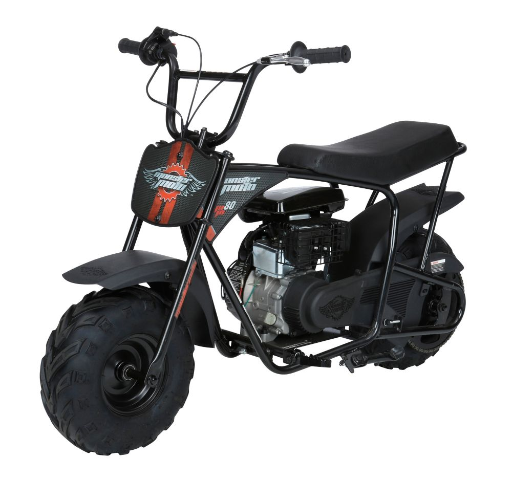 Moster Moto Youth Mini Bike, Gas 80cc OHV engine