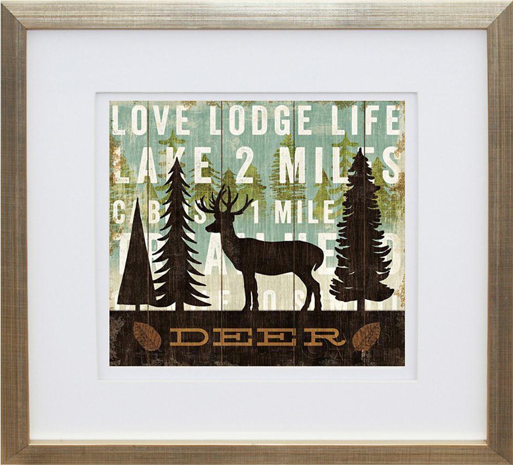 Simple Living Deer