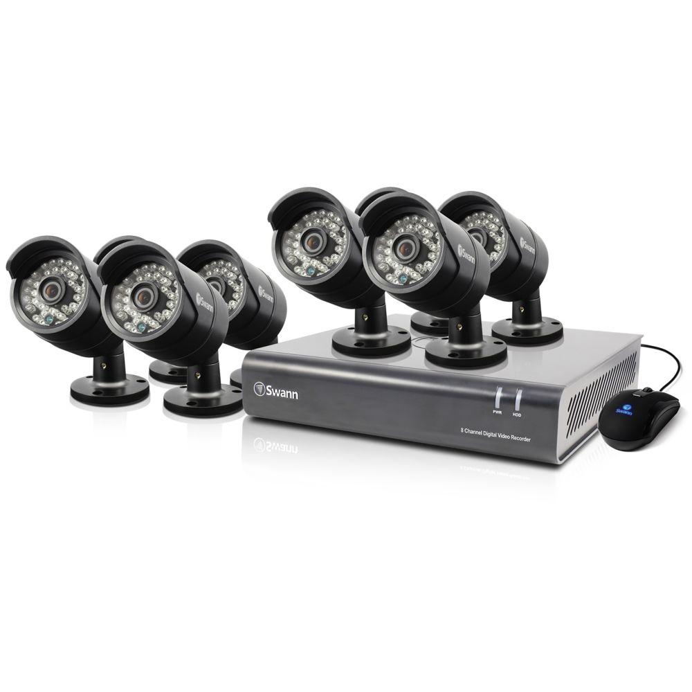 8 Channel DVR & 8 x PRO-A850 Cameras