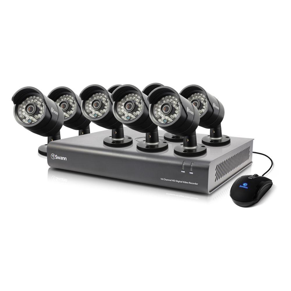 16 Channel DVR & 8 x PRO-A850 Cameras